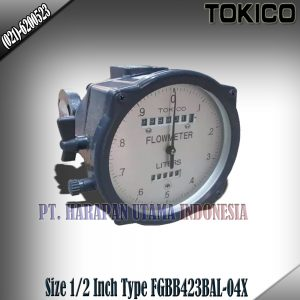 Flow Meter Tokico Non Reset Counter