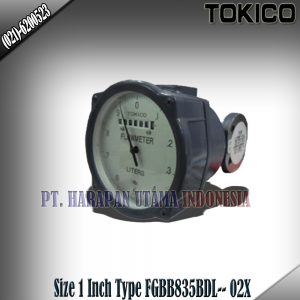 Flow Meter Tokico Reset Counter